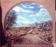 14' x 13' mural, ext.